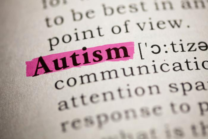 dictionary definition of autism